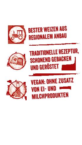 Infos zum BURGER Zwieback-Sortiment