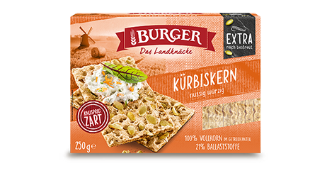 Das BURGER Premium-Sortiment
